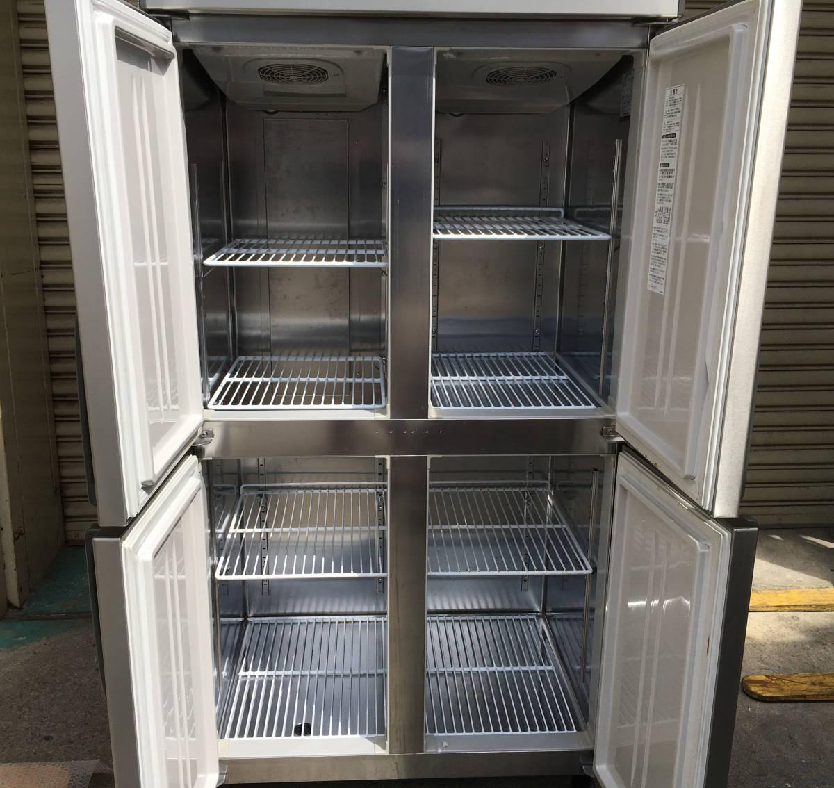 ◎送料無料地域有(一部負担)◎ホシザキ 4ドア冷凍冷蔵庫◎2016年製◎W900×D650◎冷凍1室冷蔵3室_画像4