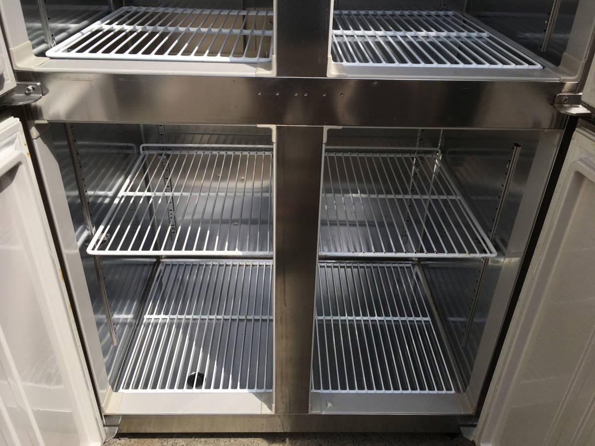 ◎送料無料地域有(一部負担)◎ホシザキ 4ドア冷凍冷蔵庫◎2016年製◎W900×D650◎冷凍1室冷蔵3室_画像6