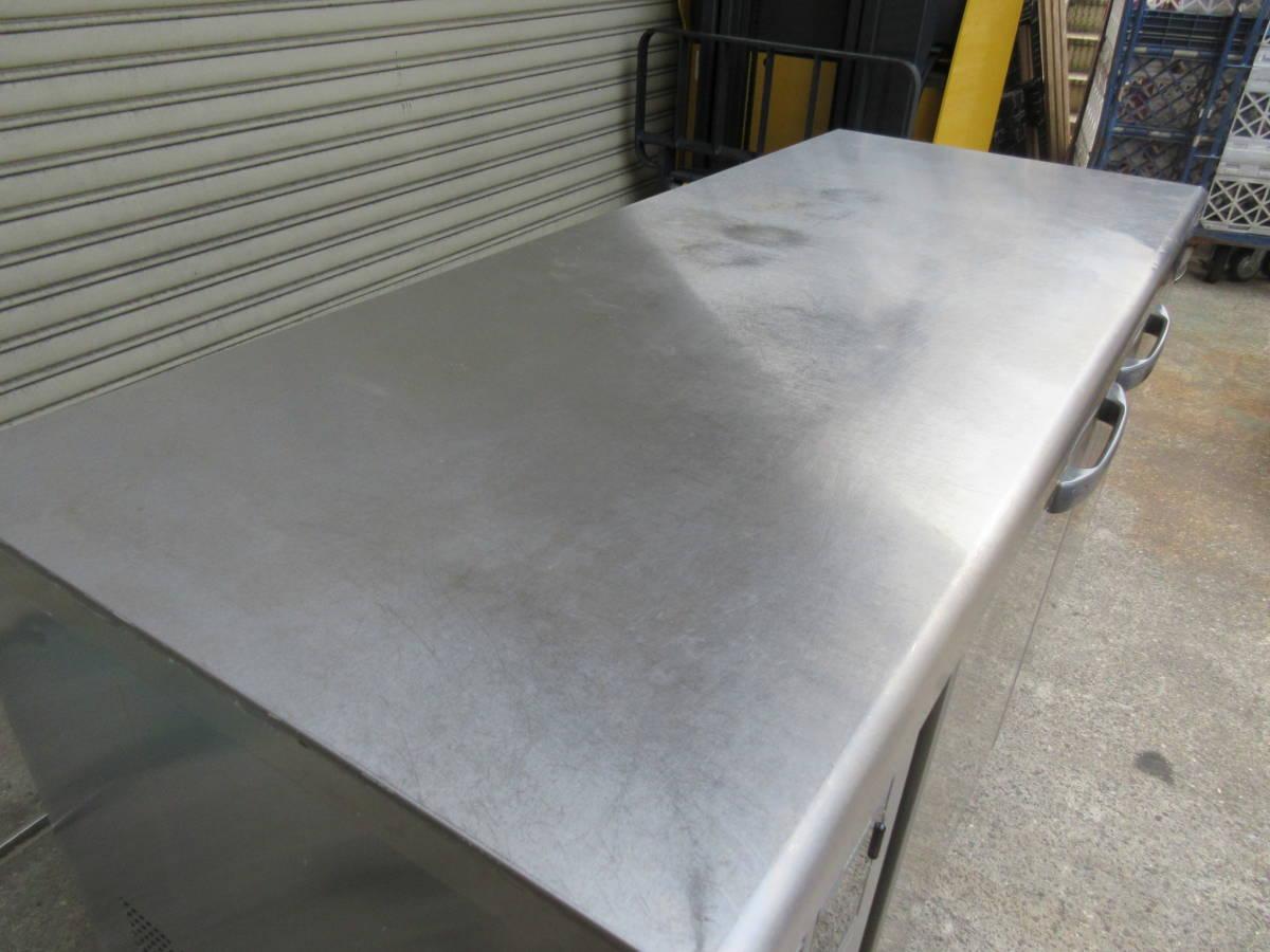 ◎送料無料地域有(一部負担)◎ホシザキ 業務用テーブル形冷凍冷蔵庫◎RFT-150SNF-E◎2017年製◎W1500mm(幅1500mm)◎_画像2