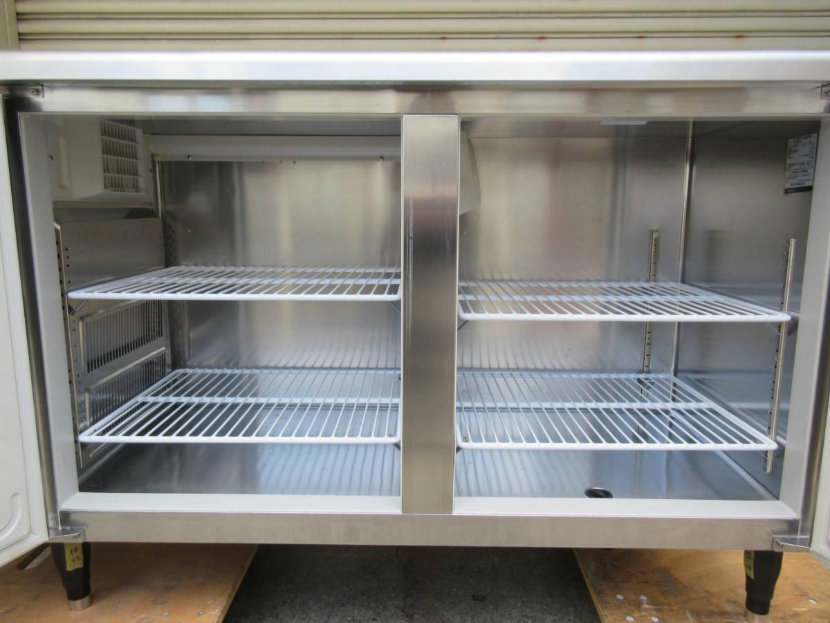 ◎送料無料地域有(一部負担)◎ホシザキ 業務用テーブル形冷凍冷蔵庫◎RFT-150SNF-E◎2017年製◎W1500mm(幅1500mm)◎_画像5