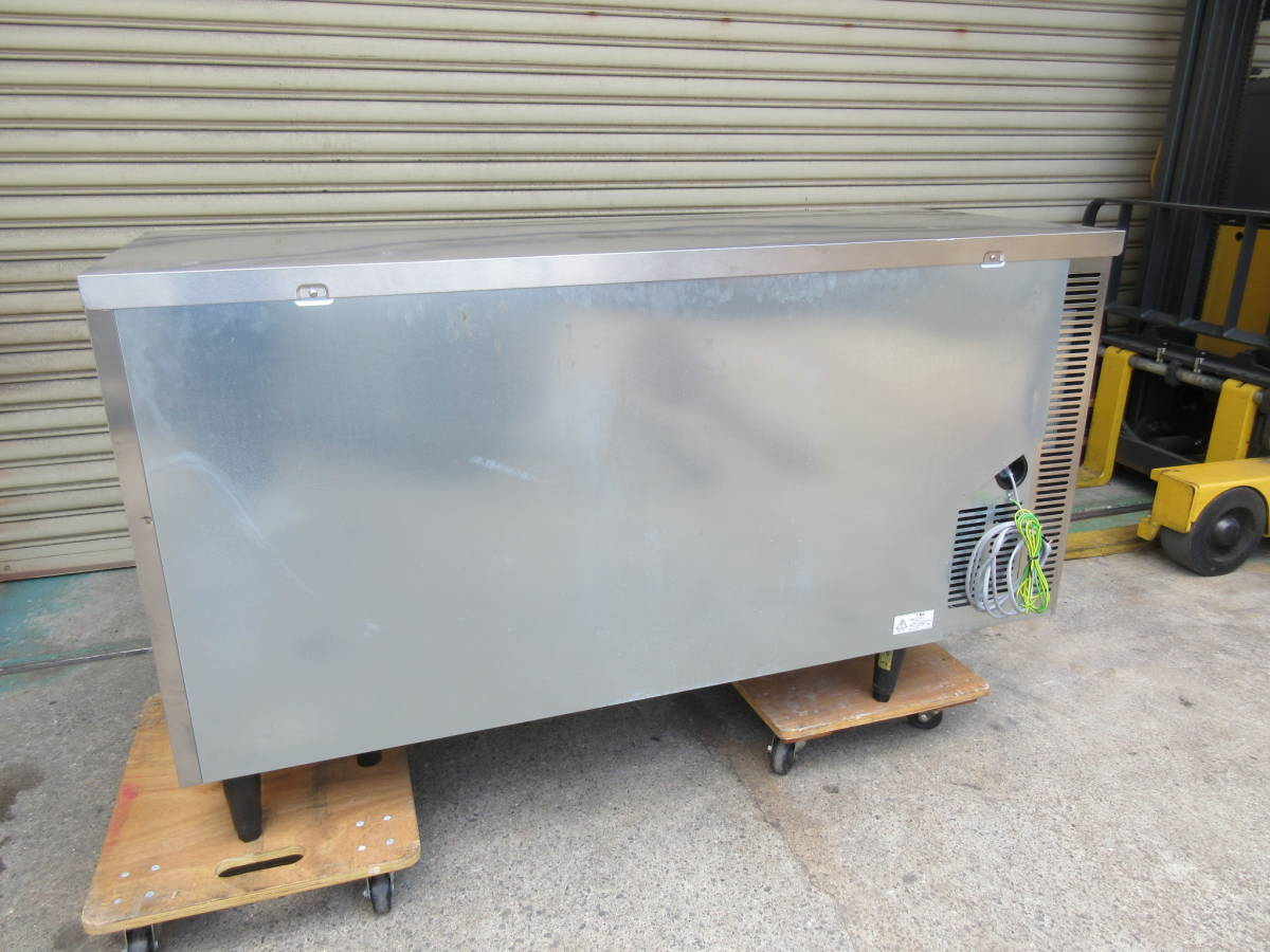 ◎送料無料地域有(一部負担)◎ホシザキ 業務用テーブル形冷凍冷蔵庫◎RFT-150SNF-E◎2017年製◎W1500mm(幅1500mm)◎_画像9