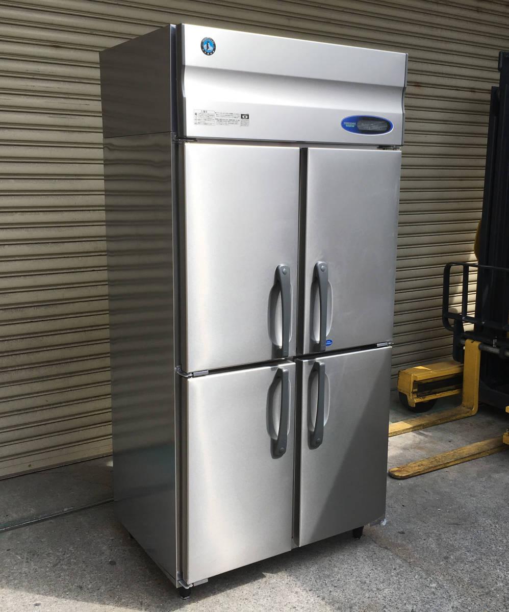 ◎送料無料地域有(一部負担)◎ホシザキ 4ドア冷凍冷蔵庫◎2016年製◎W900×D650◎冷凍1室冷蔵3室_画像1