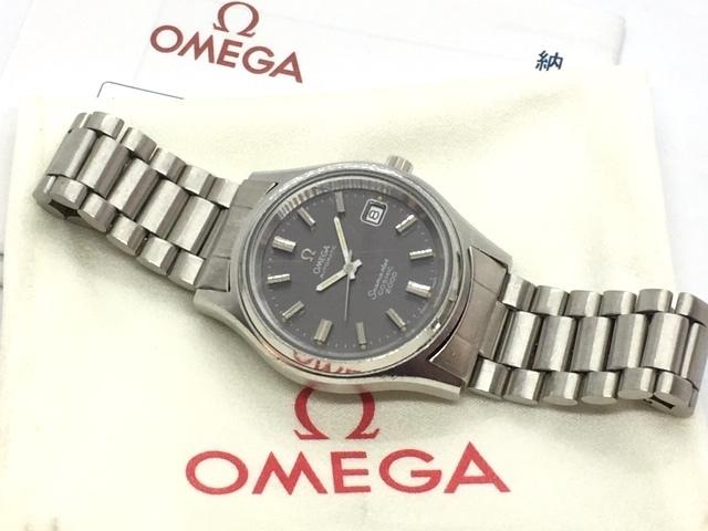 希少 OMEGA オメガ シーマスター COSMIC 2000 純正ブレス 1970年代 2013年オメガにてオーバーホール後保管_画像1