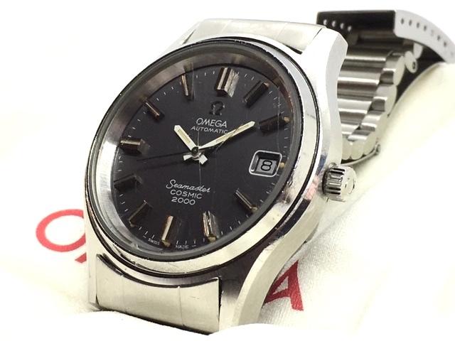 希少 OMEGA オメガ シーマスター COSMIC 2000 純正ブレス 1970年代 2013年オメガにてオーバーホール後保管_画像2