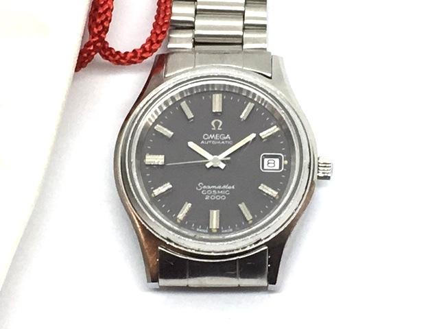 希少 OMEGA オメガ シーマスター COSMIC 2000 純正ブレス 1970年代 2013年オメガにてオーバーホール後保管_画像7