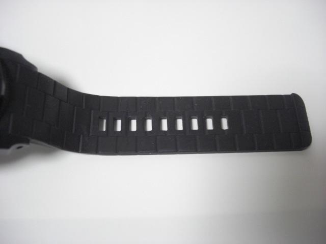 ★ディーゼル DIESEL DZ-1437 クォーツ腕時計 ラバーベルト 中古★に132_画像9