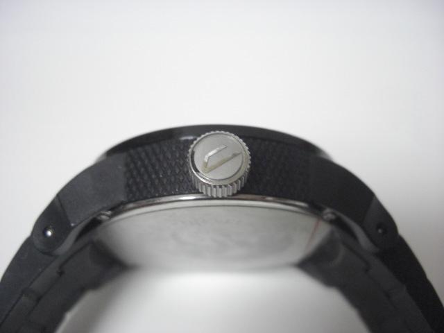 ★ディーゼル DIESEL DZ-1437 クォーツ腕時計 ラバーベルト 中古★に132_画像6