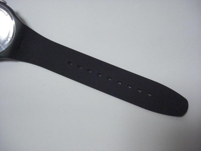 ★スウォッチ swatch モノブラック MONO BLACK SUOB720 クォーツ腕時計 美品★に152_画像5