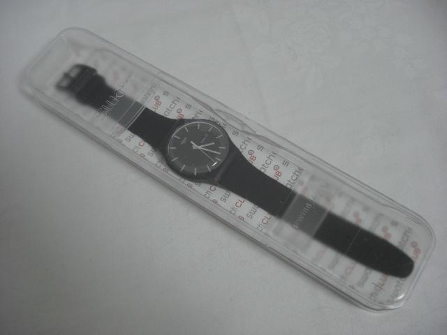 ★スウォッチ swatch モノブラック MONO BLACK SUOB720 クォーツ腕時計 美品★に152