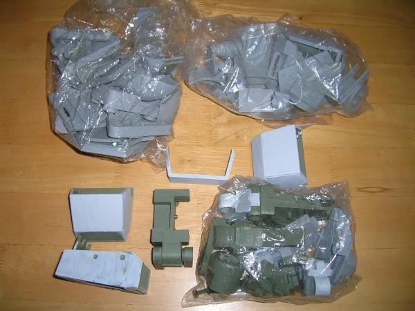 YHC 【ジャンク】 VOLKS 1/8 ATM-09-ST SCOPEDOG VOTOMS 装甲騎兵ボトムズ_画像4