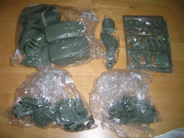 YHC 【ジャンク】 VOLKS 1/8 ATM-09-ST SCOPEDOG VOTOMS 装甲騎兵ボトムズ_画像3