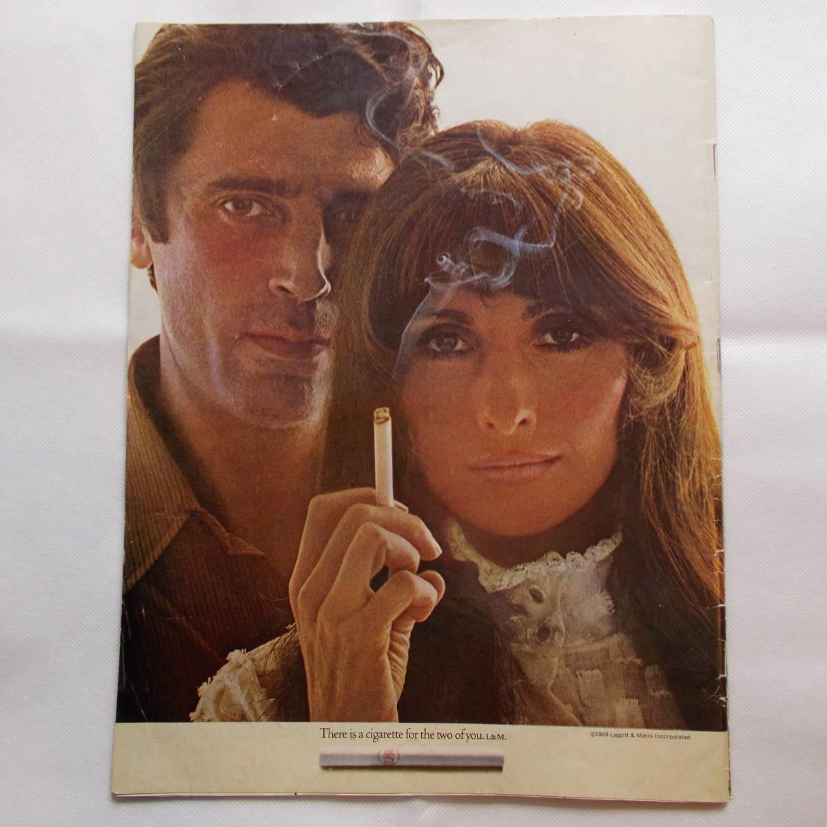LIFE magazine ライフ Peter Max ピーターマックス USエディション 1969年9月 60's コレクターズアイテム _裏表紙