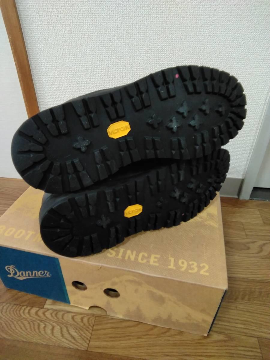 ダナー DANNER LIGHT BLACK ダナーライト マウンテンブーツ 31400X レザー GORE-TEX ゴアテックス 黒 ブラック 9.5 27.5cm_画像6