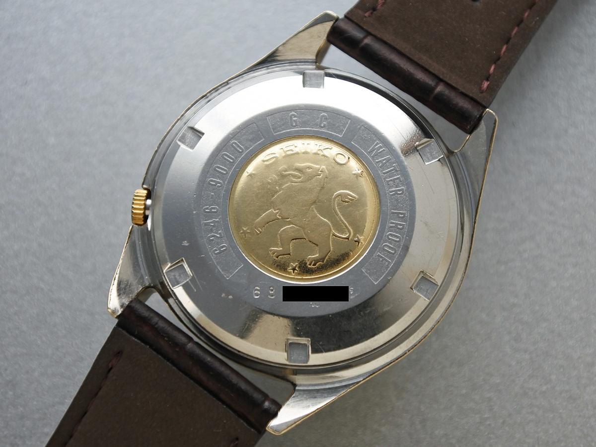 裏蓋 獅子メダル 1966年8月製造
