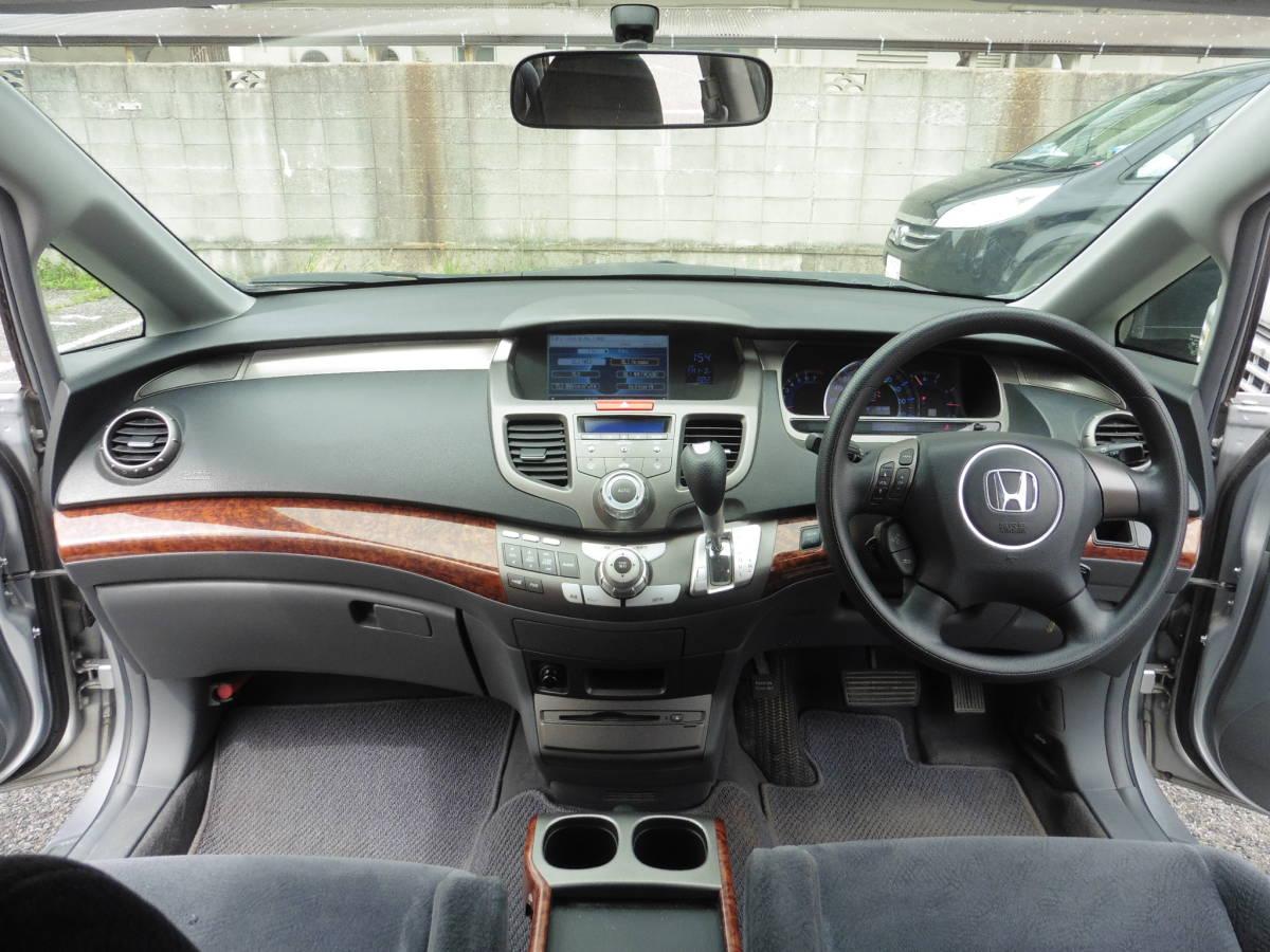 オデッセイ Mエアロ HDDナビスペシャルエディション 車高調 18インチアルミ 外フロントグリル 車検32年1月 58289Km  _画像9