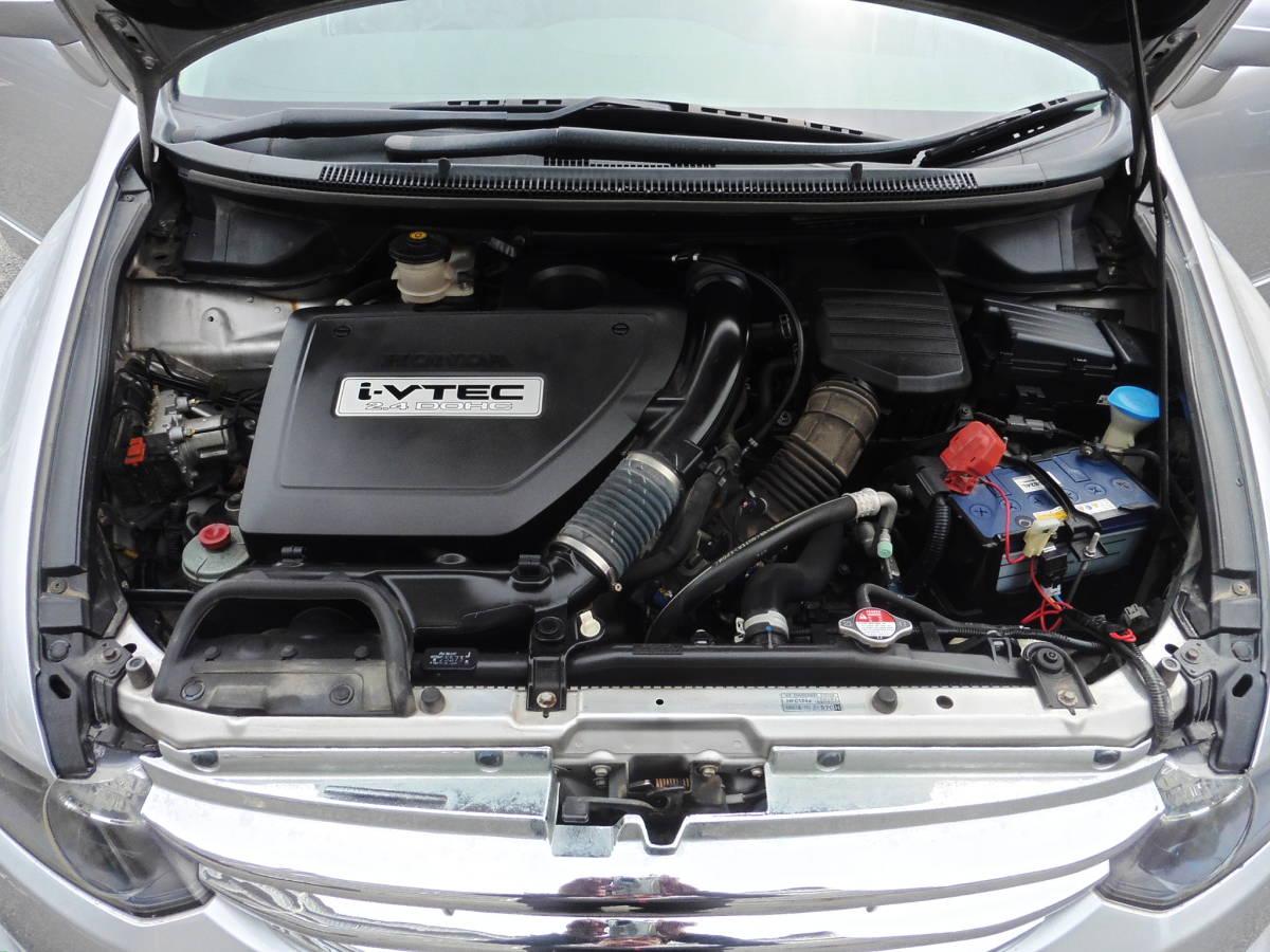 オデッセイ Mエアロ HDDナビスペシャルエディション 車高調 18インチアルミ 外フロントグリル 車検32年1月 58289Km  _画像10