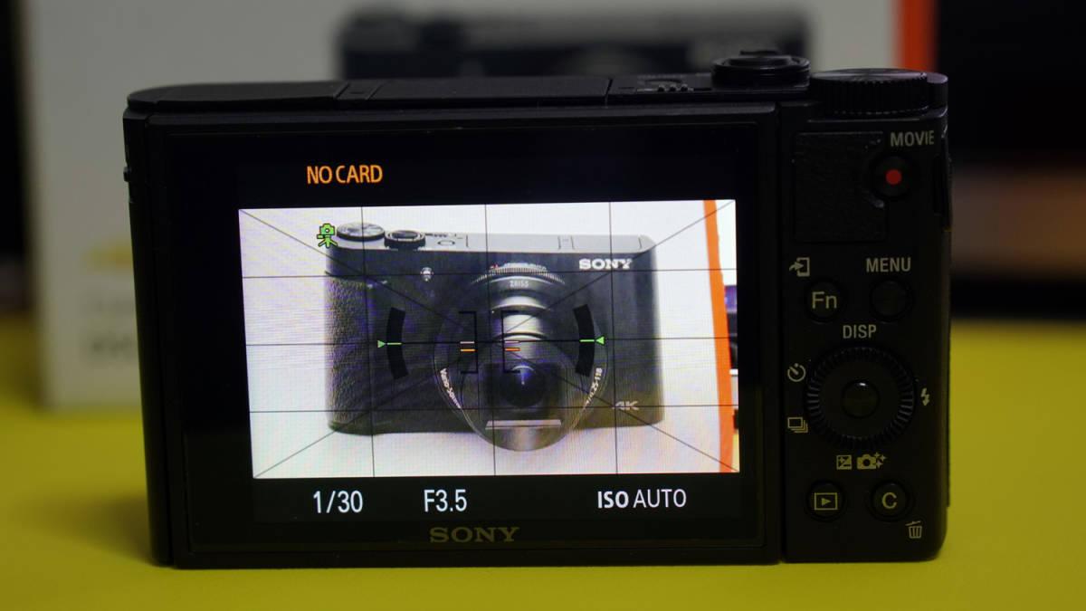 SONY Cyber-shot DSC-HX99ソニー サイバーショット ソニー製コンパクトデジカメ サイバーショット DSC-HX99 美品(新品同様)_画像3