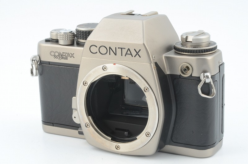 ★完動品★ CONTAX コンタックス S2 60years 60周年記念モデル ボディ #007360 G106629/424