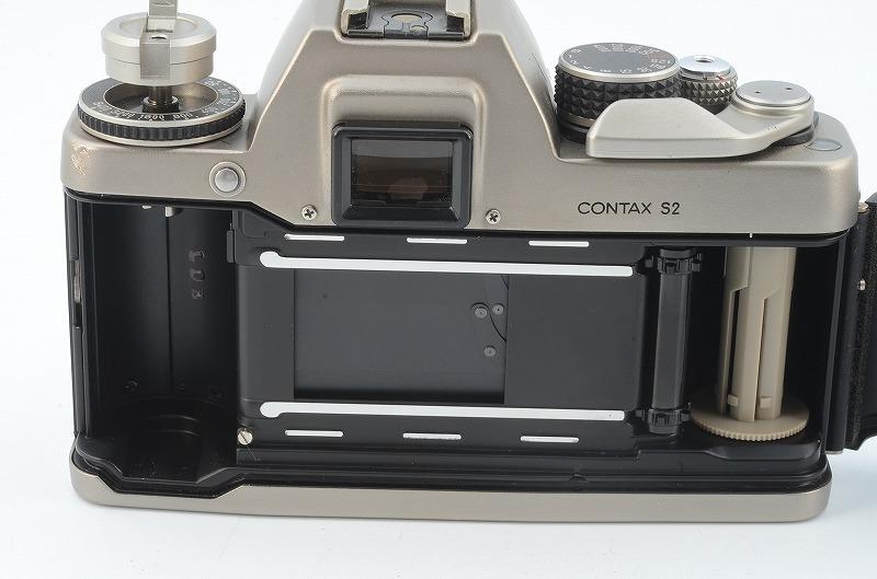 ★完動品★ CONTAX コンタックス S2 60years 60周年記念モデル ボディ #007360 G106629/424_画像6