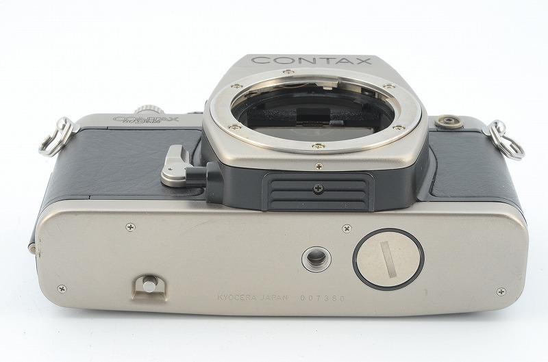 ★完動品★ CONTAX コンタックス S2 60years 60周年記念モデル ボディ #007360 G106629/424_画像5