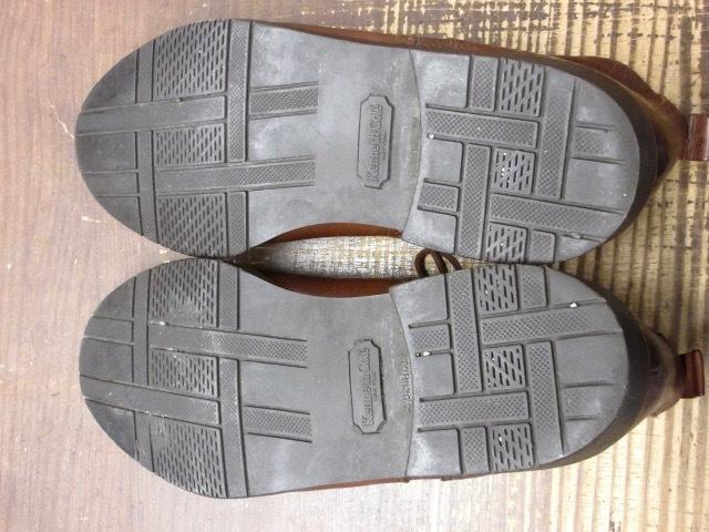 ミドルカット【イタリア製 ケネスコール もみ革 ブローギング ブーツ 茶 】デザイナーズ USA アメリカ 革靴_画像7