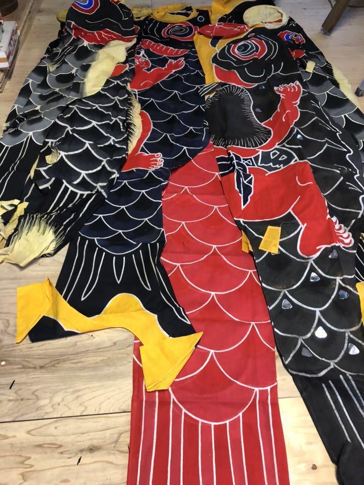 鯉のぼり 祝鯉のぼり 本染 昭和レトロ 鯉のぼりまとめて 日光堅牢 お祝い鯉 ビンテージ