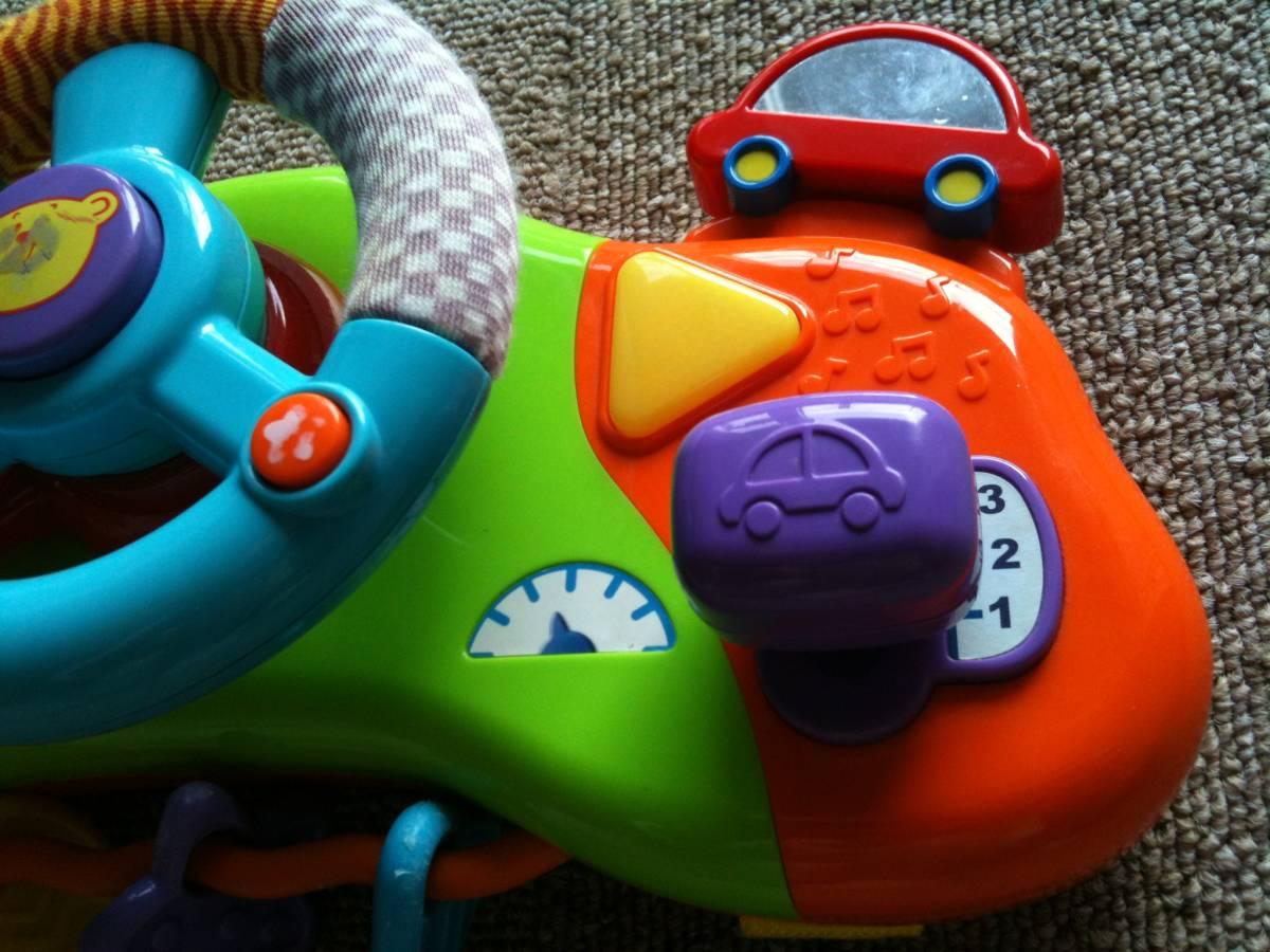 d2ab48243f5607 中古】ハンドルおもちゃ/ベビーカー/チャイルドシート/長時間移動 ...