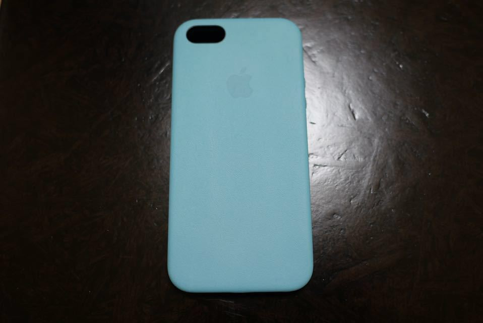 4ecc562c87 代購代標第一品牌- 樂淘letao - iPhone SE /5S/5用Apple純正ナチュラルレザーケースブルーMF044LL/A