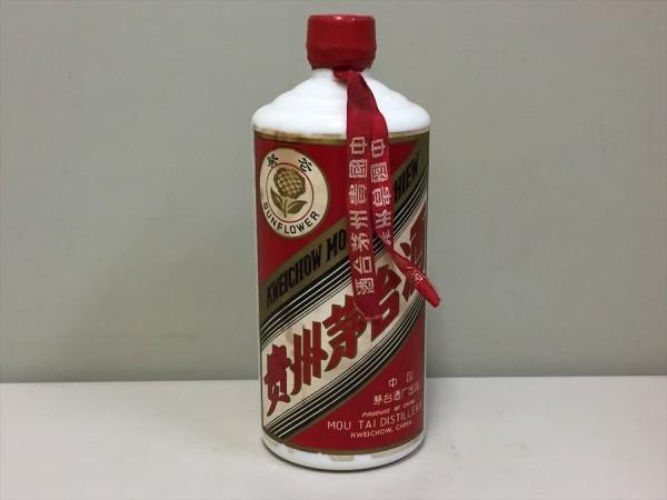 4042【古酒・未開栓】中国 貴州 茅台酒 マオタイ酒 葵花 SUNFLOWER 重量:約1,060g