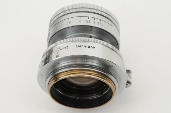 【良品】Leica Summicron 50mm F2 ライカ 沈胴式 Lマウント ズミクロン L型 1954年製 オールドレンズ ミラーレス機に! #2989_画像8