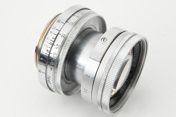 【良品】Leica Summicron 50mm F2 ライカ 沈胴式 Lマウント ズミクロン L型 1954年製 オールドレンズ ミラーレス機に! #2989_画像6