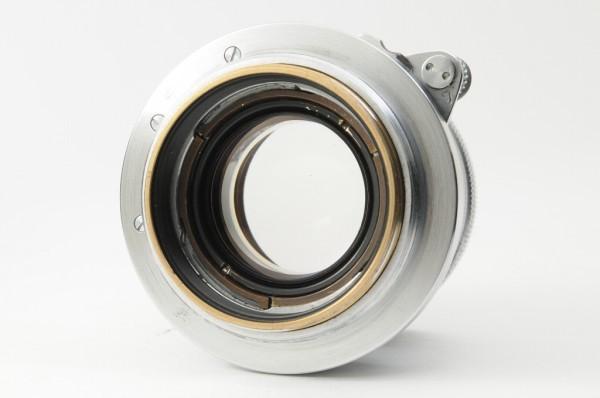 【良品】Leica Summicron 50mm F2 ライカ 沈胴式 Lマウント ズミクロン L型 1954年製 オールドレンズ ミラーレス機に! #2989_画像4