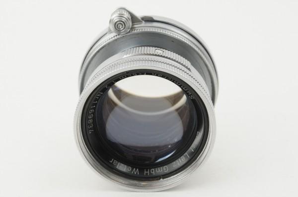 【良品】Leica Summicron 50mm F2 ライカ 沈胴式 Lマウント ズミクロン L型 1954年製 オールドレンズ ミラーレス機に! #2989_画像7