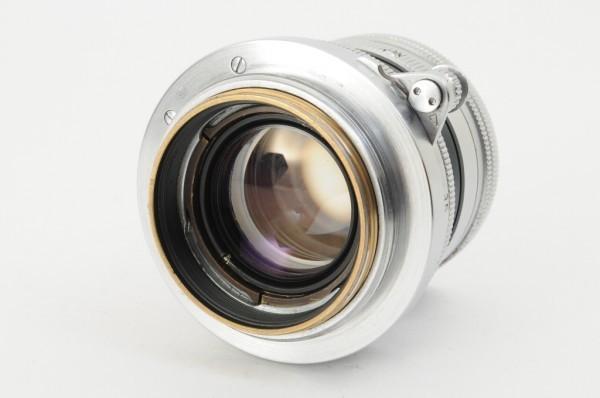 【良品】Leica Summicron 50mm F2 ライカ 沈胴式 Lマウント ズミクロン L型 1954年製 オールドレンズ ミラーレス機に! #2989_画像2