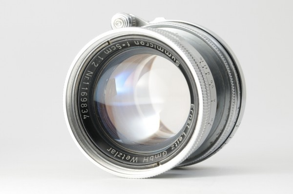 【良品】Leica Summicron 50mm F2 ライカ 沈胴式 Lマウント ズミクロン L型 1954年製 オールドレンズ ミラーレス機に! #2989_画像3