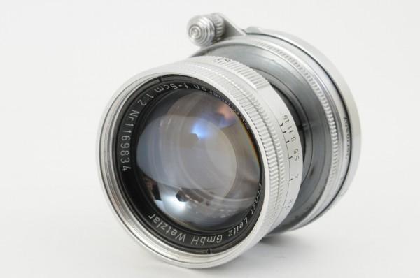 【良品】Leica Summicron 50mm F2 ライカ 沈胴式 Lマウント ズミクロン L型 1954年製 オールドレンズ ミラーレス機に! #2989