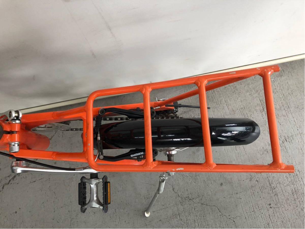 440 プジョー PEUGEOT コリブリ ミニベロ 折りたたみ 16インチ 人気 自転車 中古_画像8