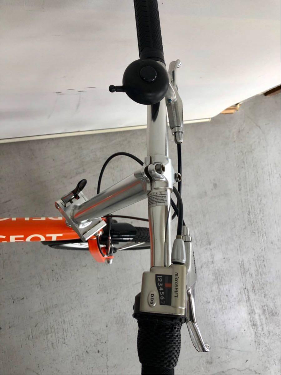 440 プジョー PEUGEOT コリブリ ミニベロ 折りたたみ 16インチ 人気 自転車 中古_画像3