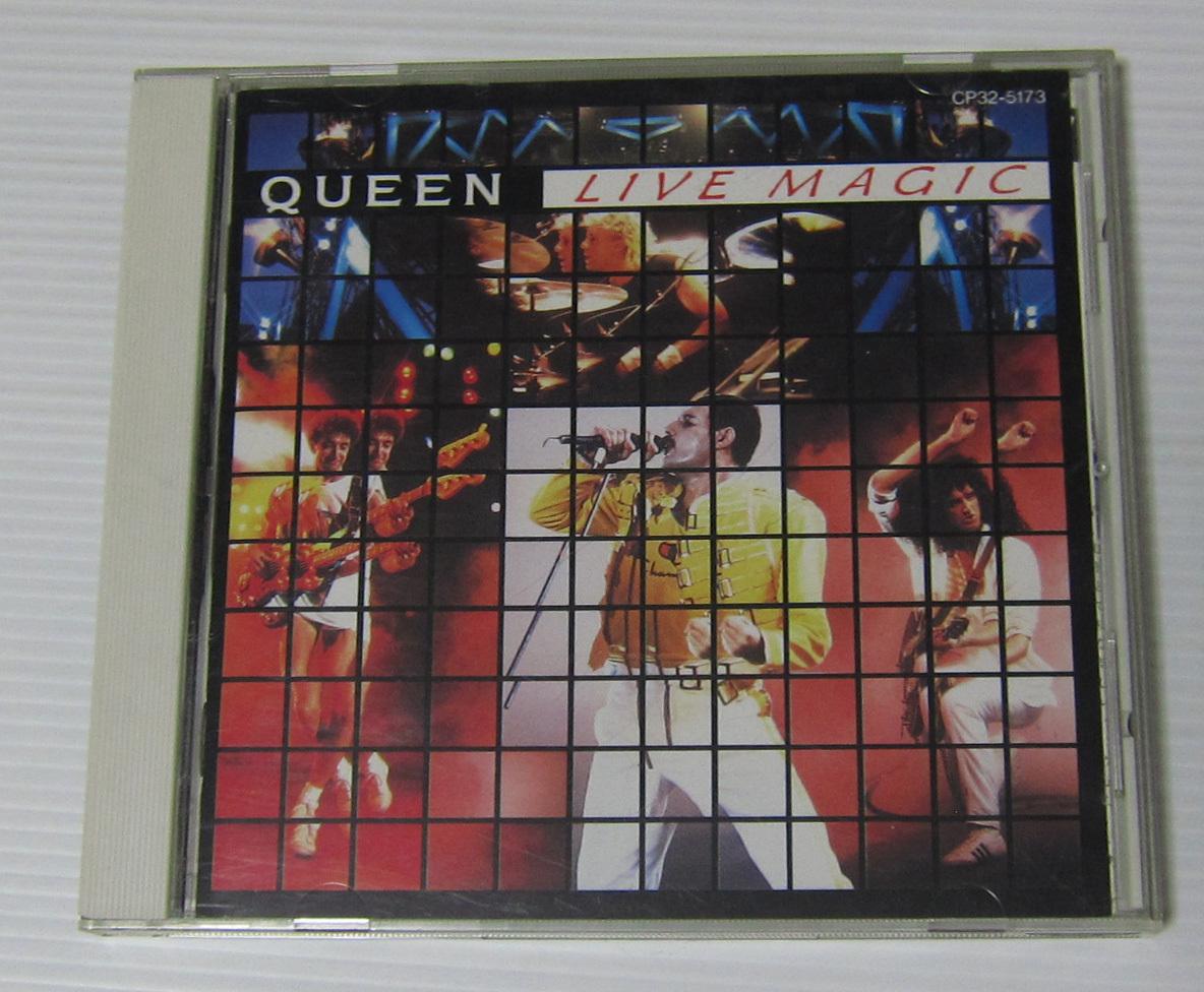 *QUEEN クイーン CD ライヴ・マジック LIVE MAGIC/国内盤 CP32-5173/フレディ・マーキュリー/送料150円~