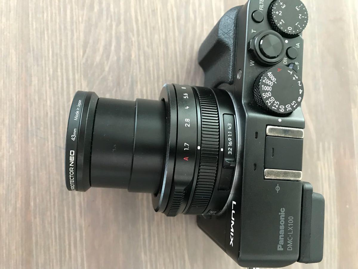 パナソニック Panasonic ルミックス LX100 ブラック DMC-LX100-K 付属品完備(中古品美品)_画像7