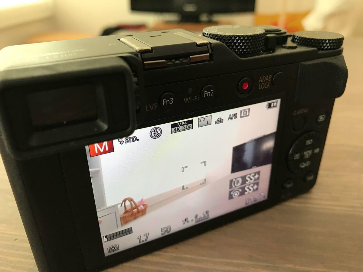 パナソニック Panasonic ルミックス LX100 ブラック DMC-LX100-K 付属品完備(中古品美品)_画像5