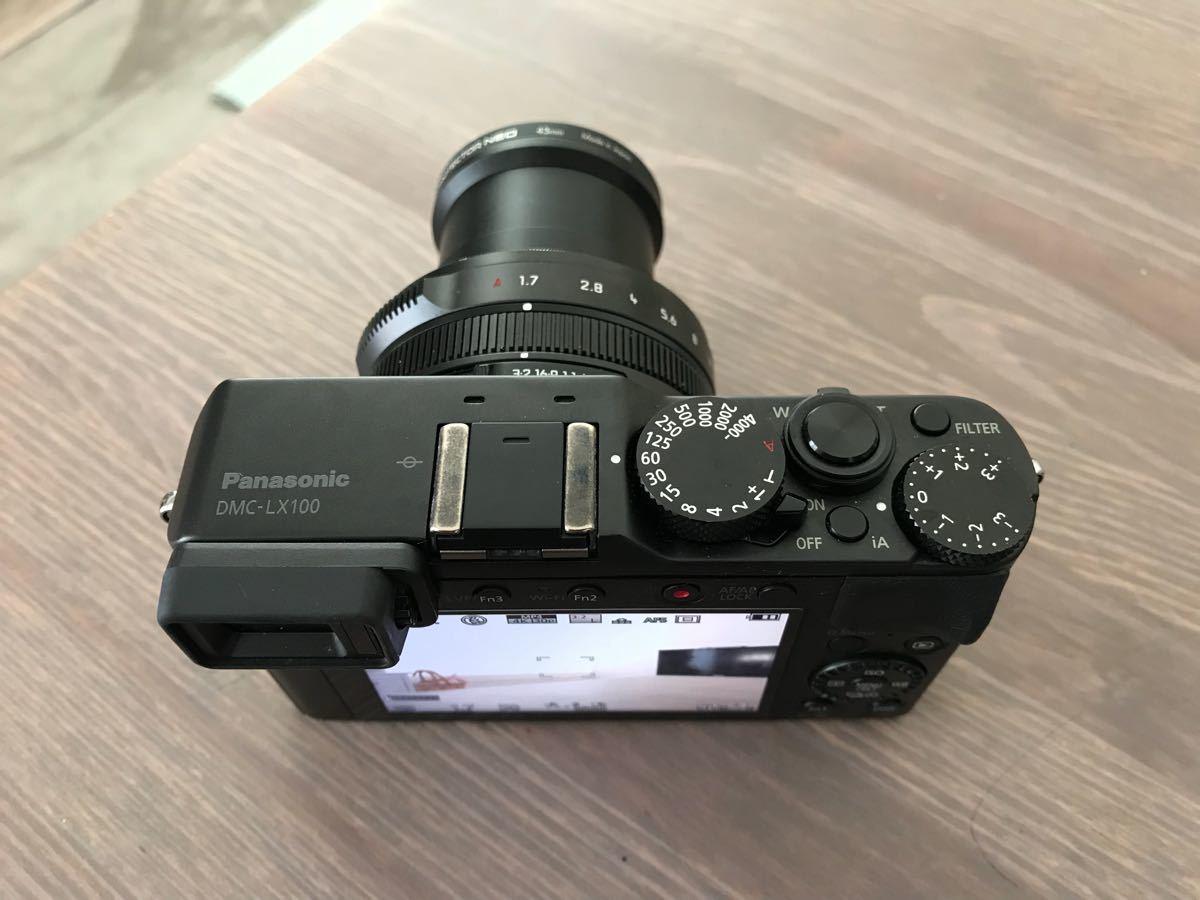 パナソニック Panasonic ルミックス LX100 ブラック DMC-LX100-K 付属品完備(中古品美品)_画像4