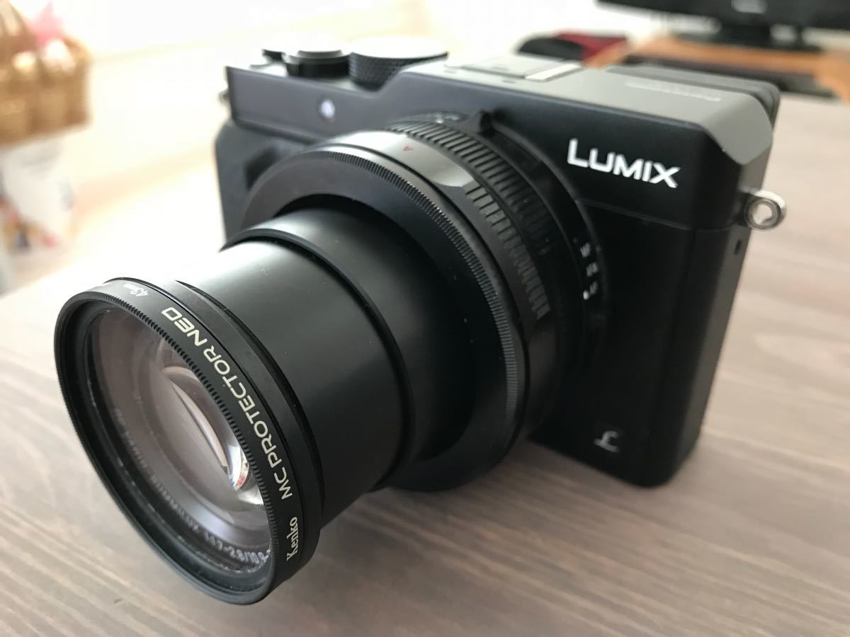 パナソニック Panasonic ルミックス LX100 ブラック DMC-LX100-K 付属品完備(中古品美品)_画像2