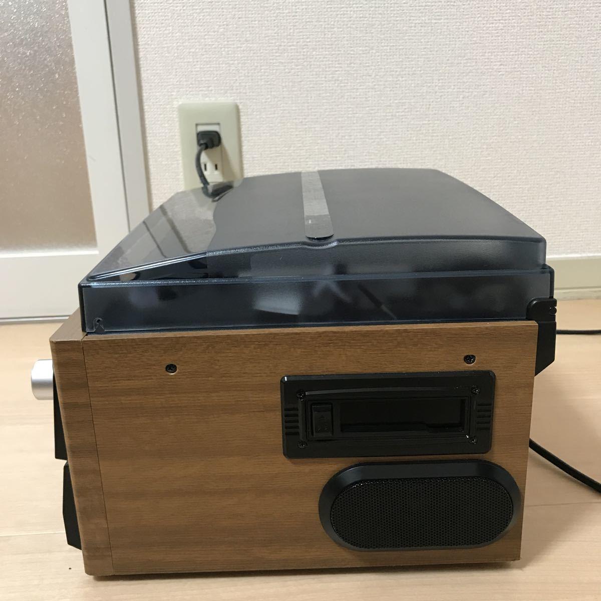 DCT/ダブルCD・マルチレコードプレーヤー DCT-7000W リモコン欠品_画像6