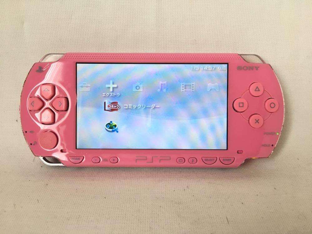 SONY PSP 1000 ピンク
