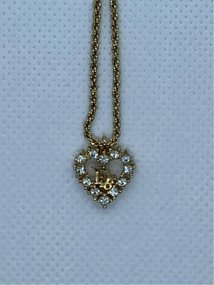 注目!美品!1円~Christian Dior クリスチャン・ディオール ネックレス3本セット_画像6