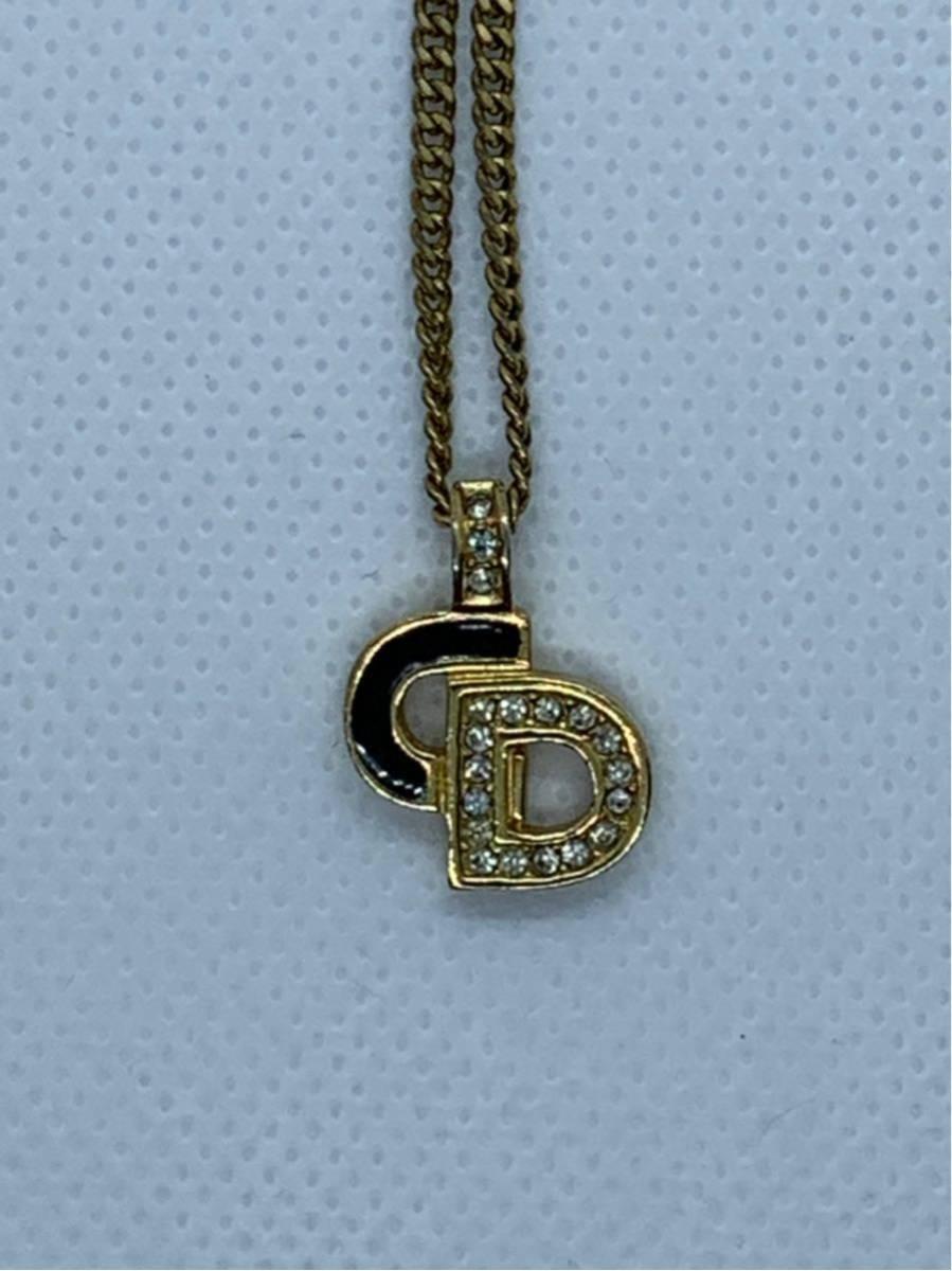 注目!美品!1円~Christian Dior クリスチャン・ディオール ネックレス3本セット_画像7