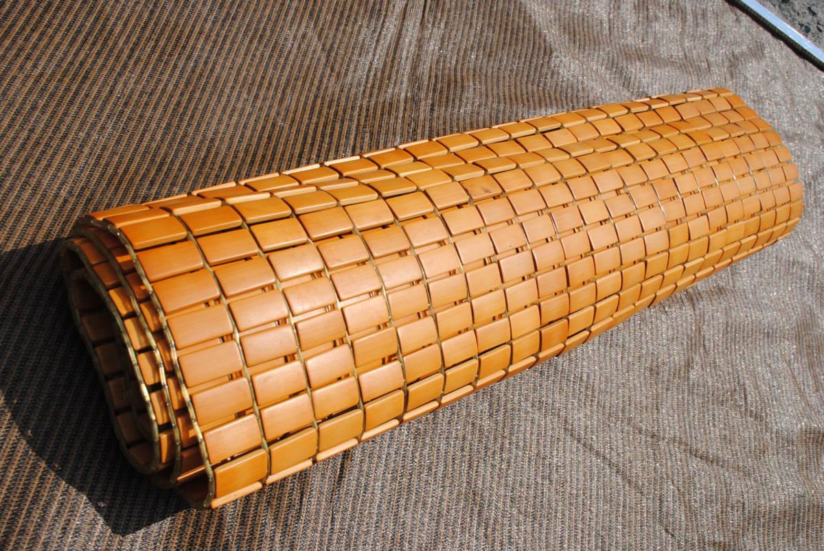 D138 竹シーツ 竹ラグ マット 90×168cm 暑さ対策 冷却マット 竹敷きパッド 寝具 ひんやり 竹駒 シングルベッド ① 送料無料_画像10