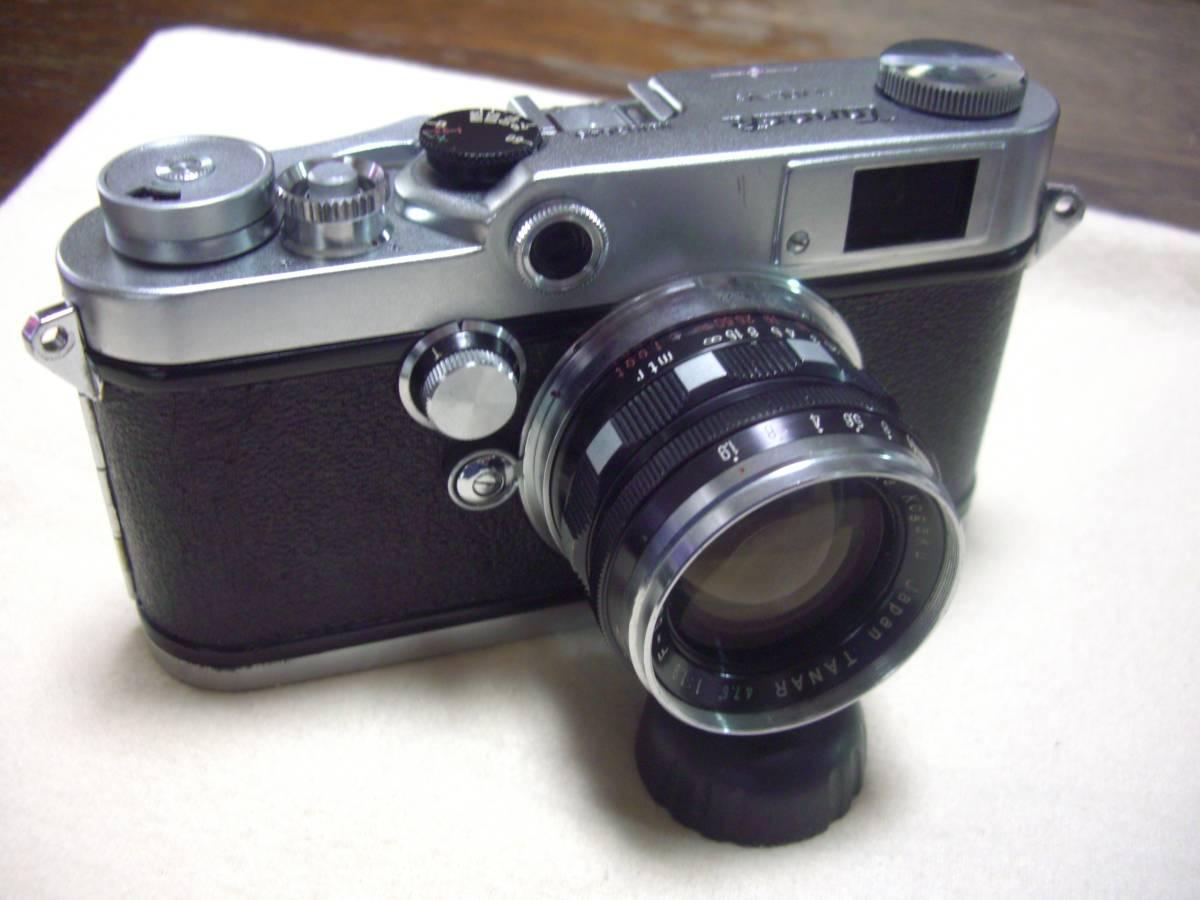 希少 田中光学 タナック V3 TANACK TYPE- V3 +  TANAR 5cm f1.9  50mm f1.9 TANAK KOGAKU JAPAN L39マウント