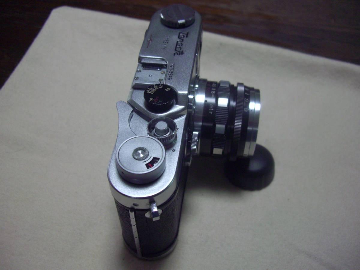 希少 田中光学 タナック V3 TANACK TYPE- V3 +  TANAR 5cm f1.9  50mm f1.9 TANAK KOGAKU JAPAN L39マウント_画像3